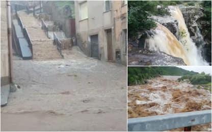 Maltempo Sardegna, temporali e disagi a Sud e nel Nuorese. VIDEO