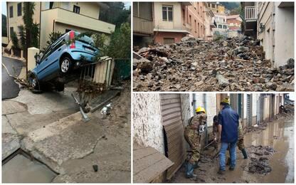Alluvione Sardegna, i danni a Bitti dopo l'ondata di acqua e fango