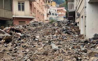 Alluvione in Sardegna (foto da Bitti) il giorno dopo