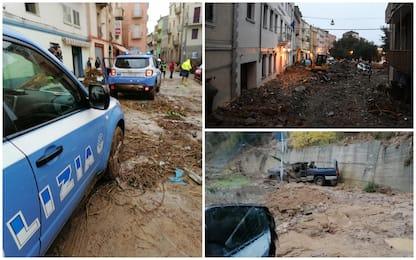 Maltempo, esercito al lavoro per liberare Bitti dal fango. Tre vittime