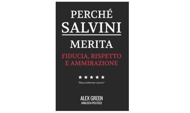 Su Amazon il libro sull'ammirazione per Salvini, ma sono tutte pagine  bianche