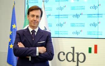 Fabrizio Palermo, amministratore delegato Cassa Depositi e Prestiti ( CDP ), in occasione della presentazione del piano industriale 2020-2022, primi investimenti della SGR, Roma, 23 giugno 2020.  ANSA/ALESSANDRO DI MEO