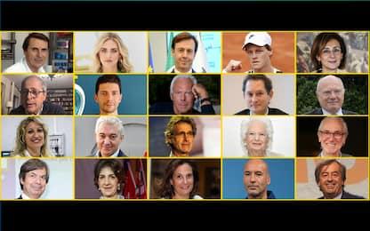 """Sky TG24 LIVE IN, i candidati per il """"Personaggio italiano 2020"""". FOTO"""