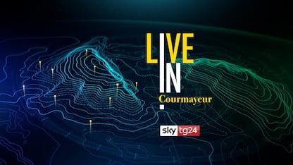 Sky TG24 LIVE IN a Courmayeur: il racconto degli eventi in diretta