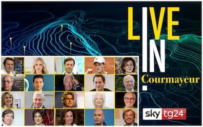 """Sky TG24 LIVE IN a Courmayeur premia il """"Personaggio Italiano 2020"""""""