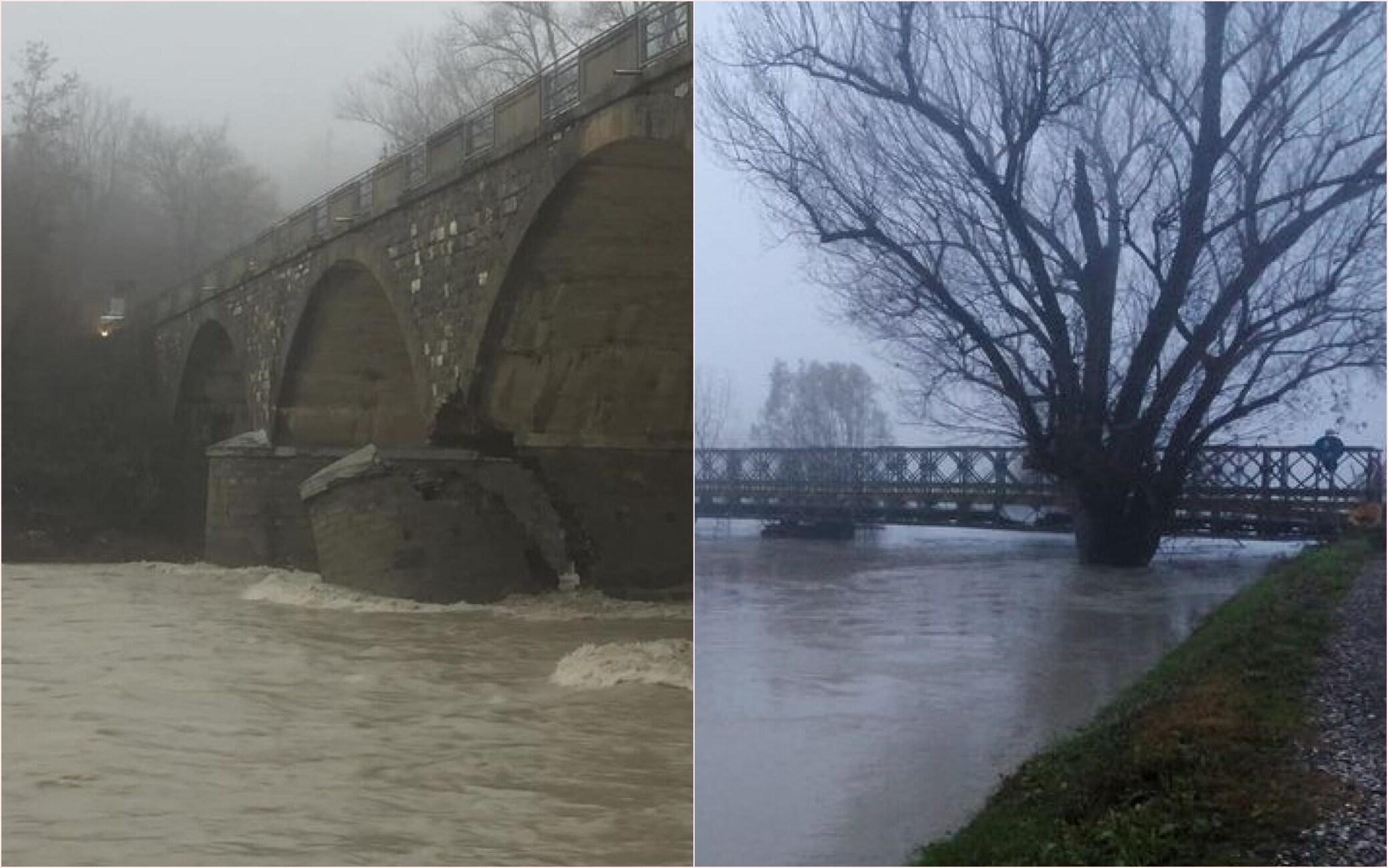 fiume panaro esondato