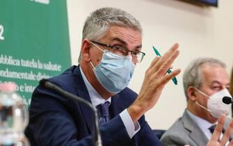 Il presidente dell'Istituto superiore di Sanità Silvio Brusaferro