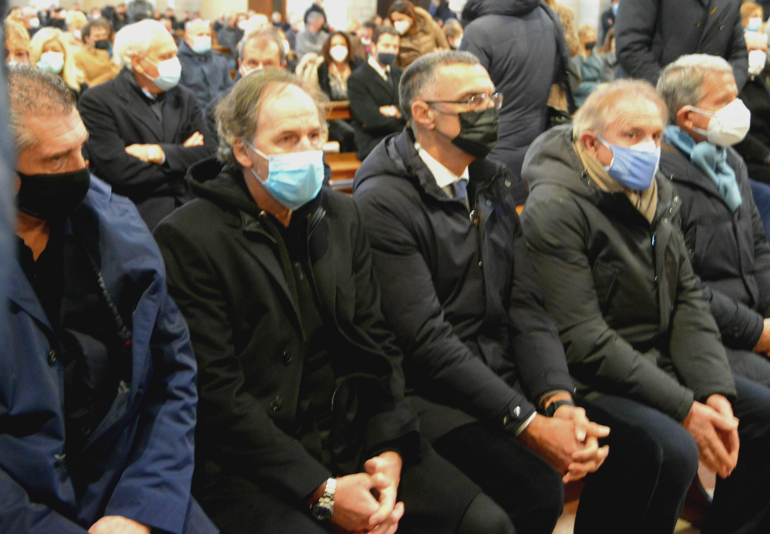 Funerali di Paolo Rossi al duomo di Vicenza (Vicenza - 2020-12-12, Maule) p.s. la foto e' utilizzabile nel rispetto del contesto in cui e' stata scattata, e senza intento diffamatorio del decoro delle persone rappresentate