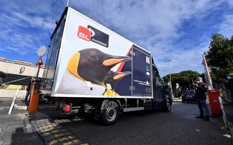 The first doses of anti Covid vaccine arrives at the Spallanzani Hospital in Rome, Italy, 26 December 2020. ANSA/RICCARDO ANTIMIANI