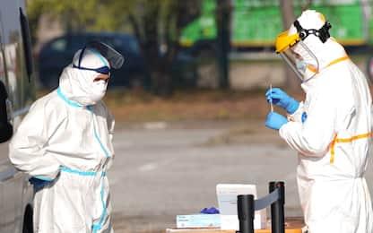 Covid, l'andamento del contagio in Italia negli ultimi giorni