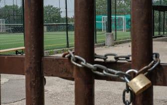 Centri sportivi e palestre ancora chiuse per l'emergenza Covid19, Roma, 14 maggio 2020. ANSA/ALESSANDRO DI MEO