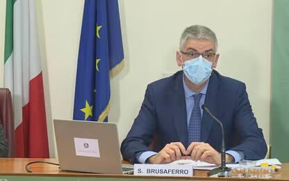 """Covid, Brusaferro: """"Italia raggiunto plateau. Decrescita lenta"""""""