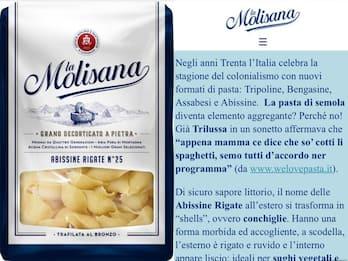"""La Molisana si scusa dopo le polemiche sulla pasta """"Abissine rigate"""""""
