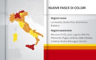regioni zona rossa zona arancione zona gialla cosa si può fare