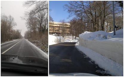 Maltempo, freddo e neve sull'Italia, anche al Sud. Fiocchi a Roma