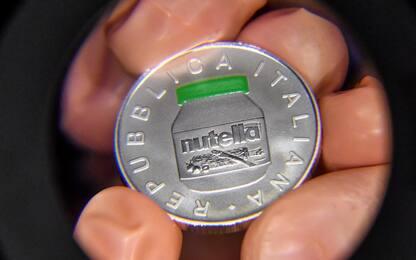 Tutti pazzi per la moneta da 5 euro dedicata alla Nutella