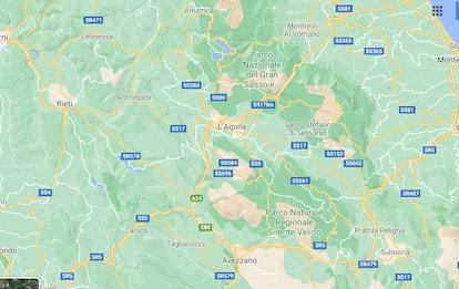 Terremoto a L'Aquila: scossa di magnitudo 2.5