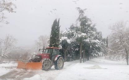 Maltempo, ancora gelo sull'Italia. Neve al Sud, allerta in tre Regioni
