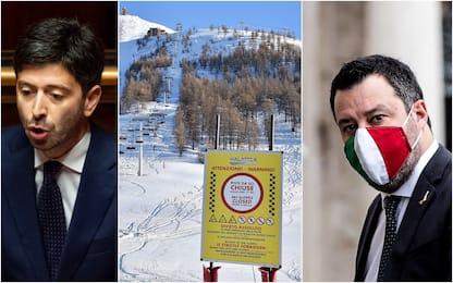 Covid, niente sci fino al 5 marzo. Protestano Lega e regioni