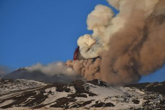 L'eruzione dell'Etna