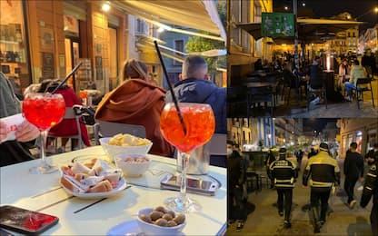 Sardegna in zona bianca tra aperitivi e cene fuori: le foto dall'isola