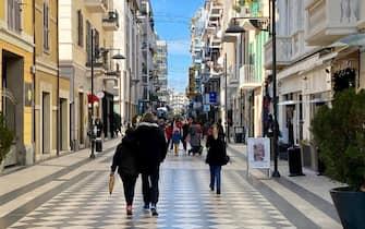 Una veduta di Pescara, 12 dicembre 2020. ANSA/LORENZO DOLCE