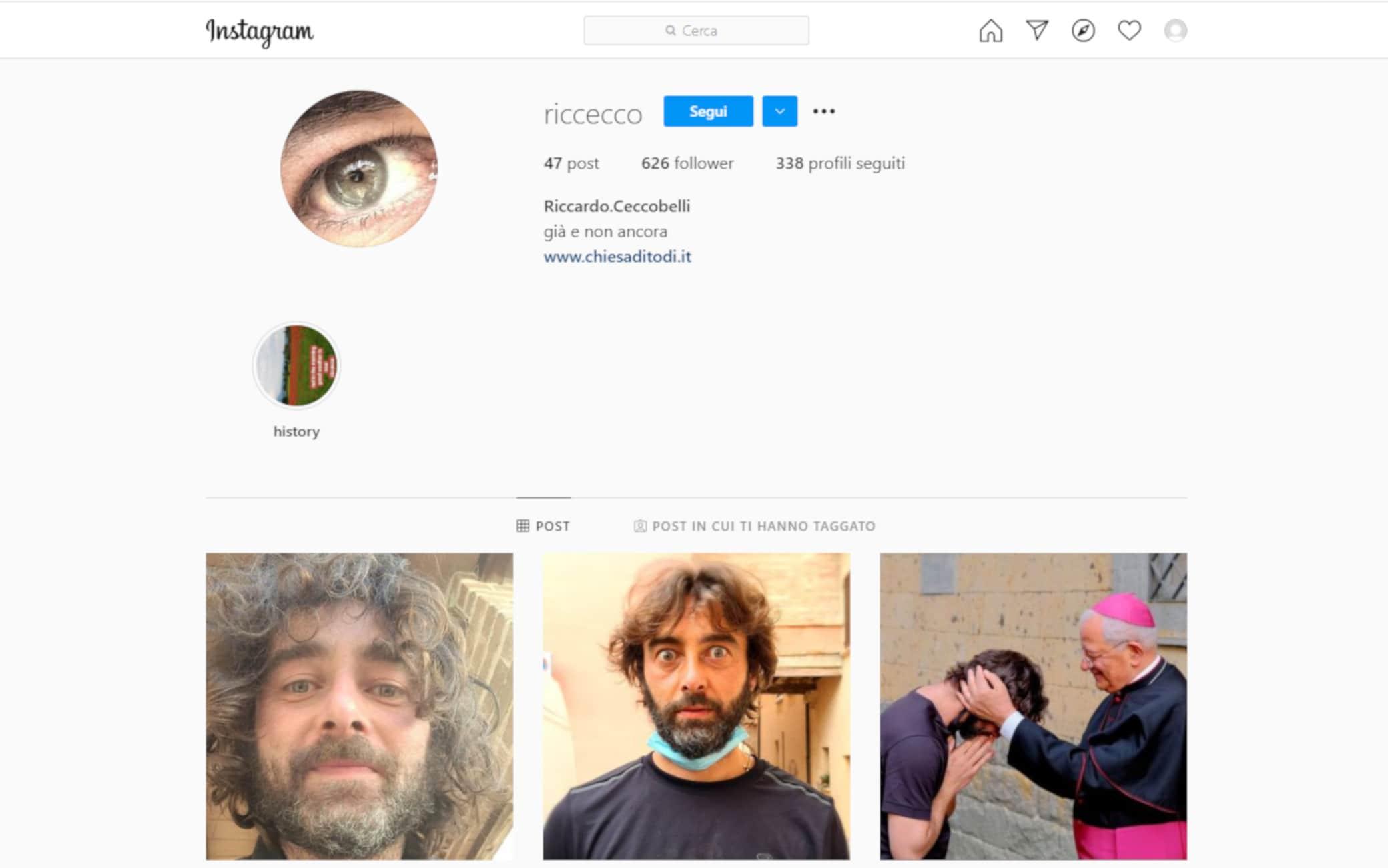 Don Riccardo Ceccobelli Instagram