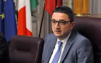 Il presidente della Provincia di Trento Maurizio Fugatti. ++UFF. STAMPA PROVINCIA TRENTO++