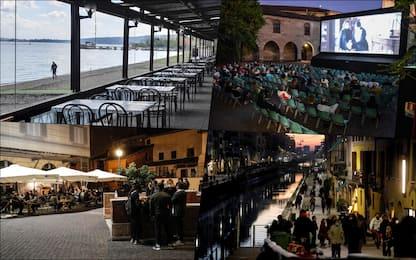 Covid, dalle scuole ai ristoranti: la road map delle riaperture
