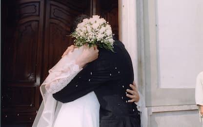 Italia ha tasso di matrimoni più basso dell'Ue, ma divorzi nella media