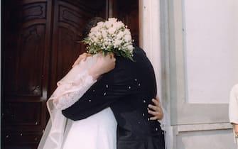 MATRIMONIO IN CHIESA (MILANO - 2004-02-10, Silvano Del Puppo) p.s. la foto e' utilizzabile nel rispetto del contesto in cui e' stata scattata, e senza intento diffamatorio del decoro delle persone rappresentate
