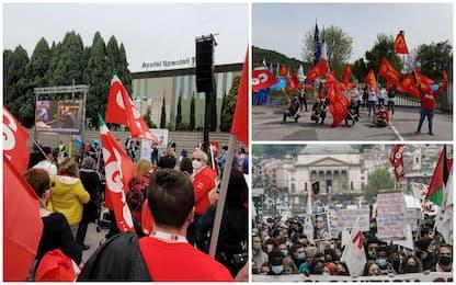 1 maggio, cortei e manifestazioni in tutta Italia. FOTO