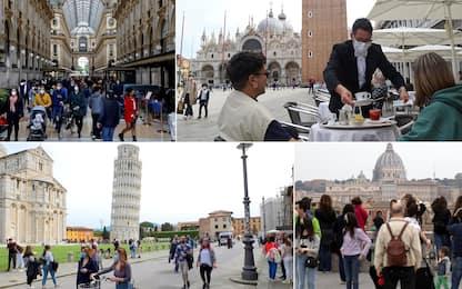 Primo maggio, le città italiane tornano a ripopolarsi