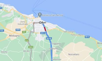 Protesta ristoratori blocca Statale 100 di Bari, traffico paralizzato