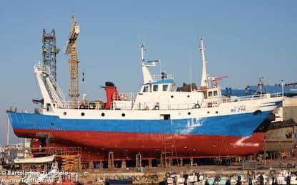 Spari contro peschereccio italiano in zona libica: ferito comandante
