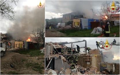 Gubbio, esplosione in fabbricato: due morti e tre feriti. VIDEO