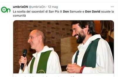 Città di Castello, parroco e suo vice lasciano la Chiesa per amore