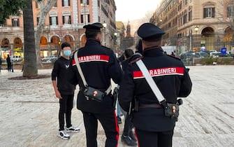 Controlli dei carabinieri durante il weekend, Roma, 2 maggio 2021. ANSA/US CARABINIERI ++ NO SALES, EDITORIAL USE ONLY +++