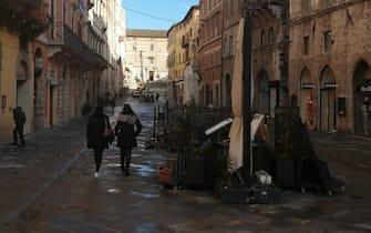 Il centro storico di Perugia