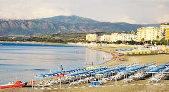 Uno stabilimento balneare a Catanzaro, 05 settembre 2020.  ANSA / QDS