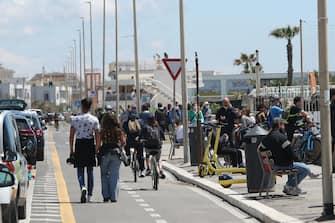 Turisti in strada