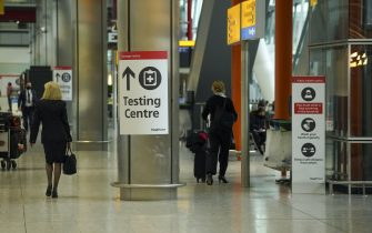 The arrivals area of Terminal 5 at Heathrow Airport in west London ahead of international travel restarting on Monday May 17, following the further easing of lockdown restrictions. Picture date: Thursday May 13, 2021.