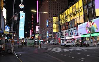 Cartelloni pubblicitari a Times Square, New York