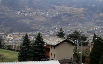 Una veduta di Aosta