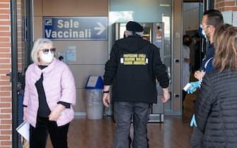 Un hub per i vaccini a Campobasso, in Molise