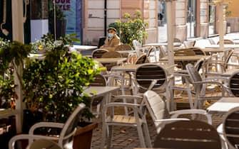 Un bar a Cosenza, in Calabria