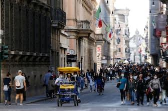 Tornano i turisti a Roma per l'estate