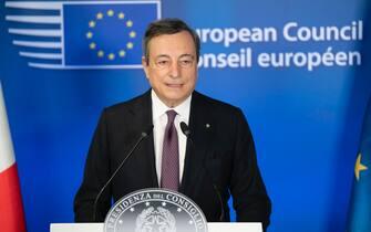 Draghi Conf Stampa