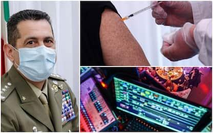 Covid, commissario Figliuolo apre ai vaccini in discoteca