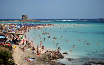 La spiaggia di Stintino